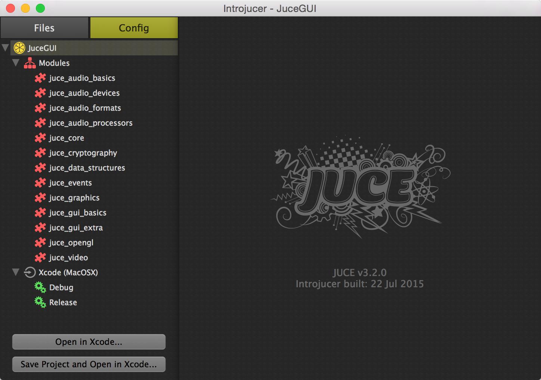 JUCE Diary #2: Introjucer